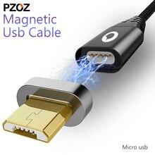 PZOZ câble magnétique Micro Usb adaptateur de charge rapide Micro Usb Cabel Microusb aimant chargeur données fil téléphone portable pour xiaomi