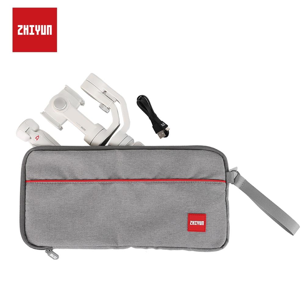 ZHIYUN, cardán oficial, bolsa portátil, Estuche de transporte suave para Zhiyun Smooth 4/3/Q, estabilizador de teléfono inteligente, grúa M2, cardán de mano