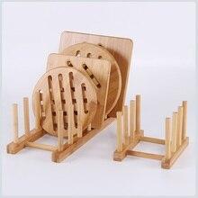Creative pratique bambou égouttoir à vaisselle détachable cuisine étagère de rangement égouttoir pour plaque tasse vaisselle support de séchage présentoir