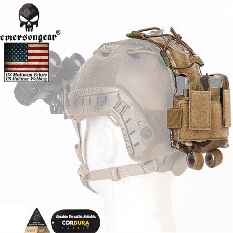 2018 NEUE Emersongear Kampf Helm MK2 Batterie Box Gegengewicht Multicam Taktische Helm Tasche