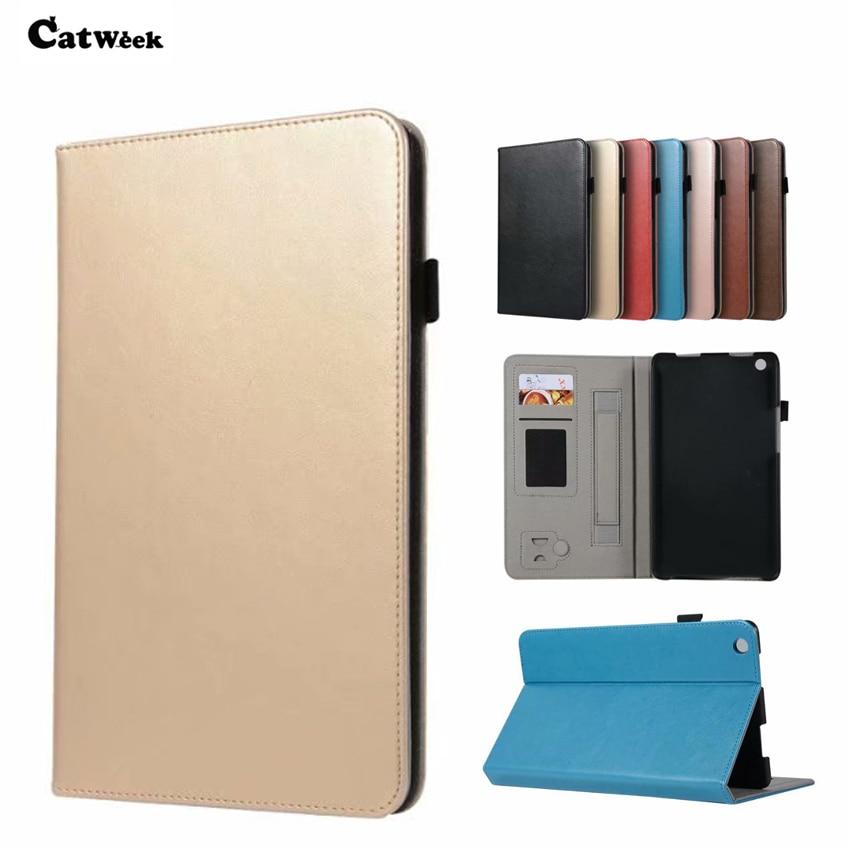 For Huawei M3 Lite 8.0 PU Leather Case Cover Slim Tablet PC Skin For Huawei MediaPad M3 Lite 8'' CPN-W09 CPN-AL00 Wallet Fundas