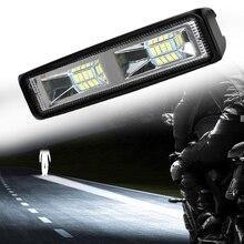 Faróis de LED Offroad Luz de Trabalho Para Auto Moto Caminhão Barco Trator Reboque 36W Holofotes LED Trabalho Light Fog Lamp 12-24V