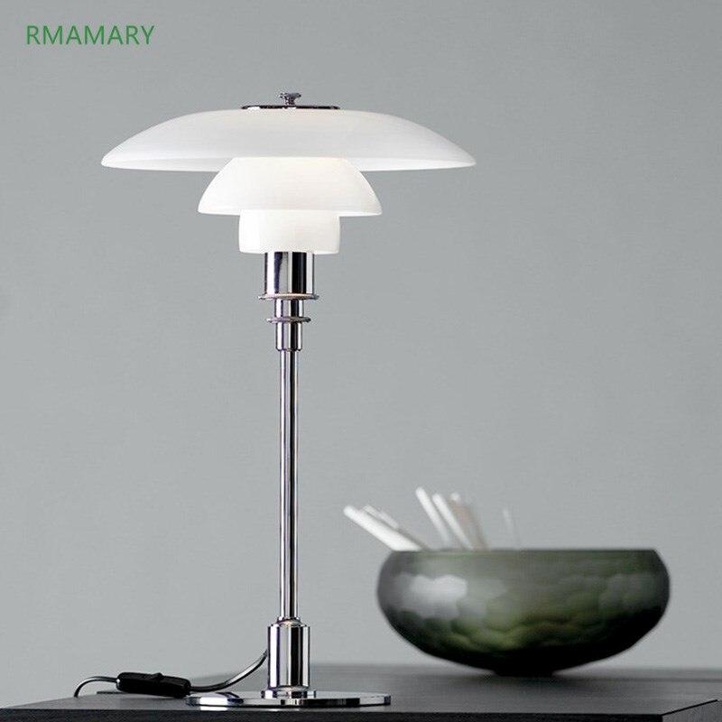 Lámpara de mesa LED moderna minimalista para sala de estar dormitorio estudio Oficina