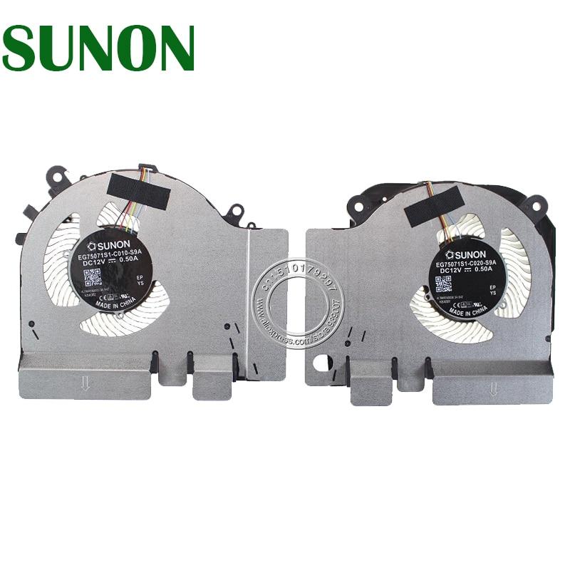 NEW EG75071S1-C010-S9A EG75071S1-C020-S9A DC12V 0.50A 4PIN Cooling Fan For Xiaomi MI 15.6 Game Notebook GTX 1060 6G Edition Fan