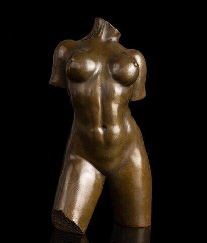 Estatua del busto de la escultura de bronce famosa de la mujer asiática de la artesanía china de cobre