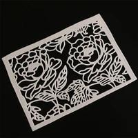 scd1143 flower metal cutting dies for scrapbooking stencils diy album cards decoration embossing folder craft die cuts tools