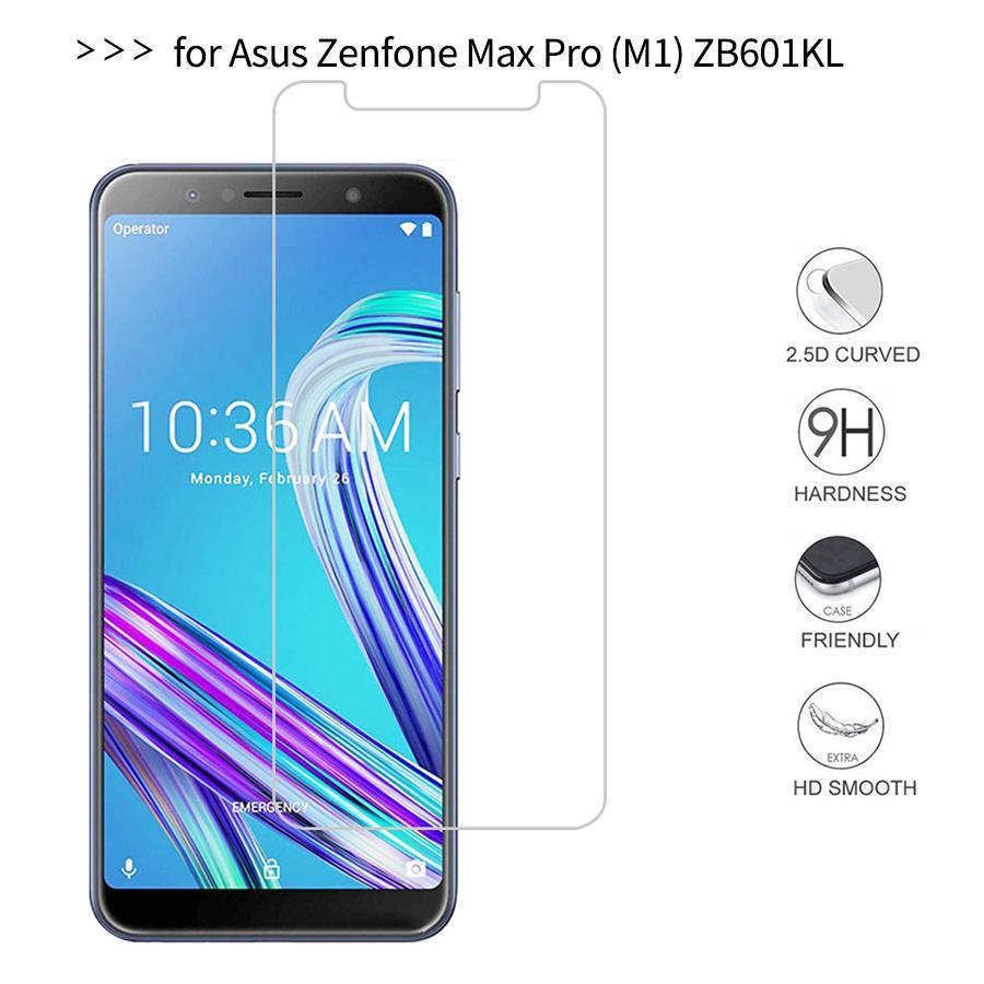 Para Asus Zenfone Max Pro M1 ZB602KL protector de pantalla de vidrio templado 2,5 9h película protectora de seguridad en ZB602 KL ZB 602KL