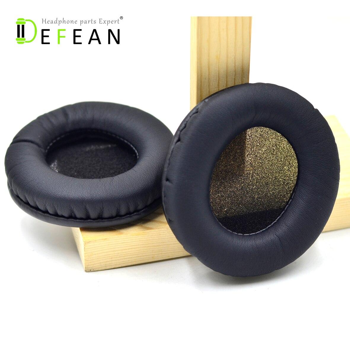 Almohadillas de repuesto Defean para Sennheiser HD 485 HD485 HD435, almohadilla para auriculares, almohadones, fundas de almohada, partes de reparación de auricular