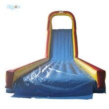 Longue glissière gonflable matérielle énorme de piscine de glissière deau de PVC pour des événements extérieurs de partie