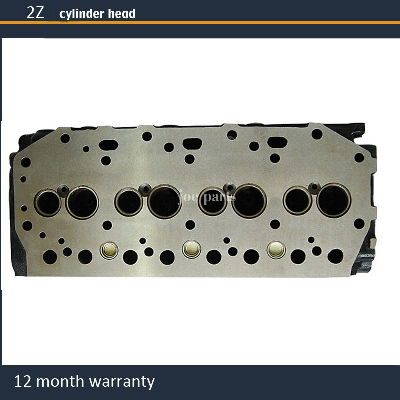 Modelo de motor culata 2Z para carretilla elevadora Toyota