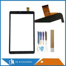 """10.1 """"dla BQ BQ-1045G BQ1045G BQ 1045G Orion Tablet ekran dotykowy czujnik szkło Digitizer kabel kod: YJ313FPC-V1 z taśmą narzędzi"""