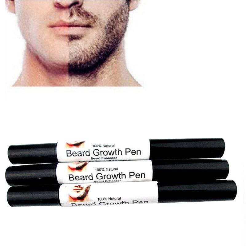 Rápido efectivo cara barba bigotes bigote crecimiento mejorar líquido pluma potenciador estilo forma de pulverización crecimiento pluma líquida