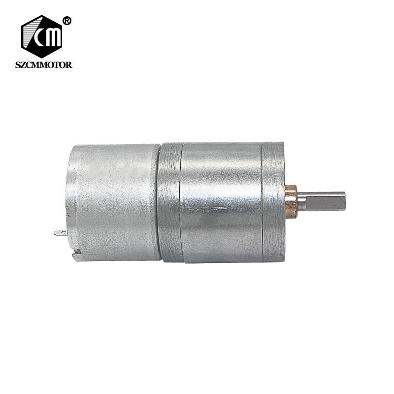 12volt micro gear motor no load speed:16 21 35 46 77 100 177 220 375 830 1800 RPM decelerated motor JGA25-310-12