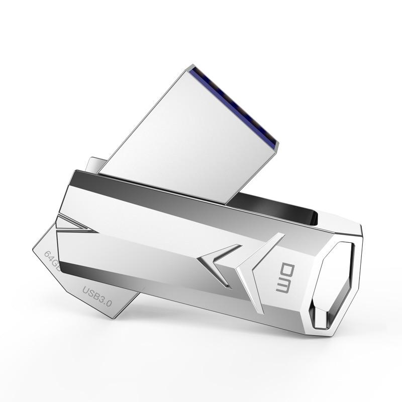 USB флеш накопитель 3 0 высокоскоростной PD097 32 Гб 64 металлическая скорость записи от