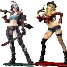 23cm Sexy Freddy Vs Jason Female Version horror bishoujo PVC Action figure Toys