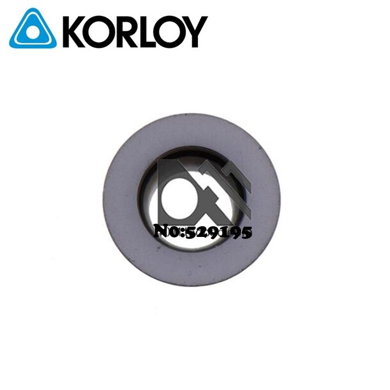 Original Korloy RPMW1003MOS KF5800 rrpmw1003 RPMW 1204 insertos de carburo fresado cortador de torno herramientas de corte CNC