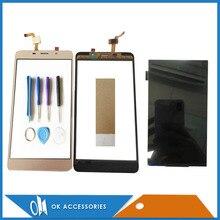 1280*720 pour Leagoo M8 M8 Pro écran tactile séparé et écran LCD couleur or noir avec bande doutils