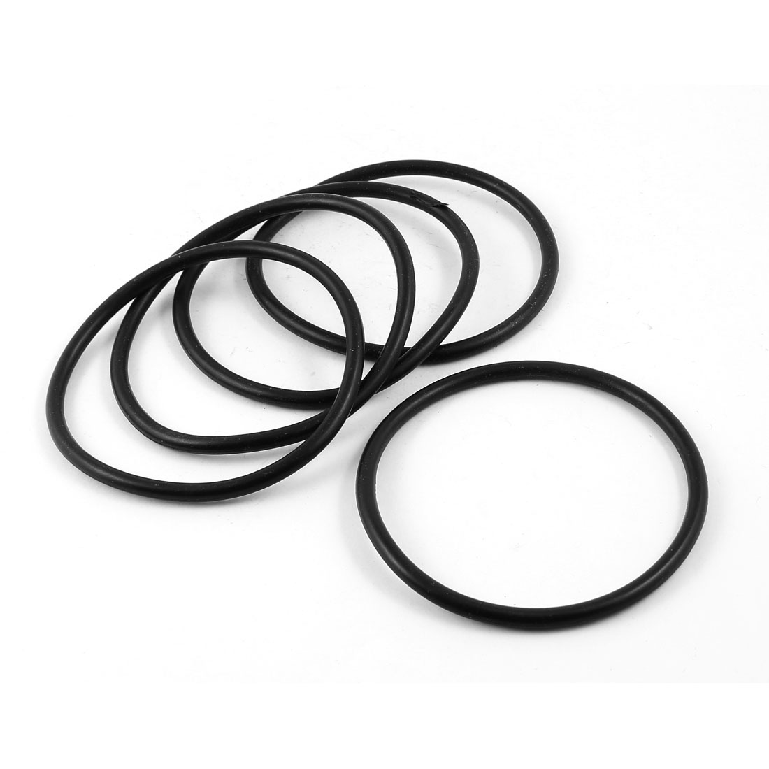 UXCELL 5 piezas 90 Mm X 80 Mm X 5 Mm aceite de goma sellado O anillos para mecánica