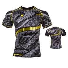 Rashguard Mma Korte Mouwen Muay Thai Shorts Gym T-shirt Martial Mma Korte Boxeo Boksen Tshirt Thailand Vechten Shirts
