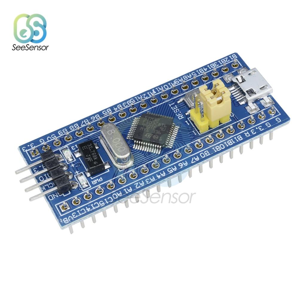 STM32F103C8T6 ARM STM32 Módulo de placa de desarrollo de sistema mínimo interfaz Mini USB DIY electrónica para Arduino