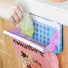 Sac de rangement pour Gadgets de cuisine   Étagère en plastique 1 unité, sac de déchets Portable suspendu, étagère de rangement des Gadgets de cuisine offre spéciale