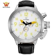 Montre أوم Relogio OYW العلامة التجارية رجل ساعة أوتوماتيكية ساعة ميكانيكية الرجال مقاوم للماء ساعة موضة ساعات المعصم الفاخرة العلامة التجارية