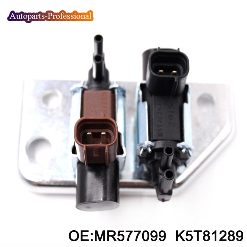 MR577099 K5T81289 para Mitsubishi Pajero Montero Shogun Sport Challenger L200 nuevos accesorios de válvula de solenoide de emisión para coche