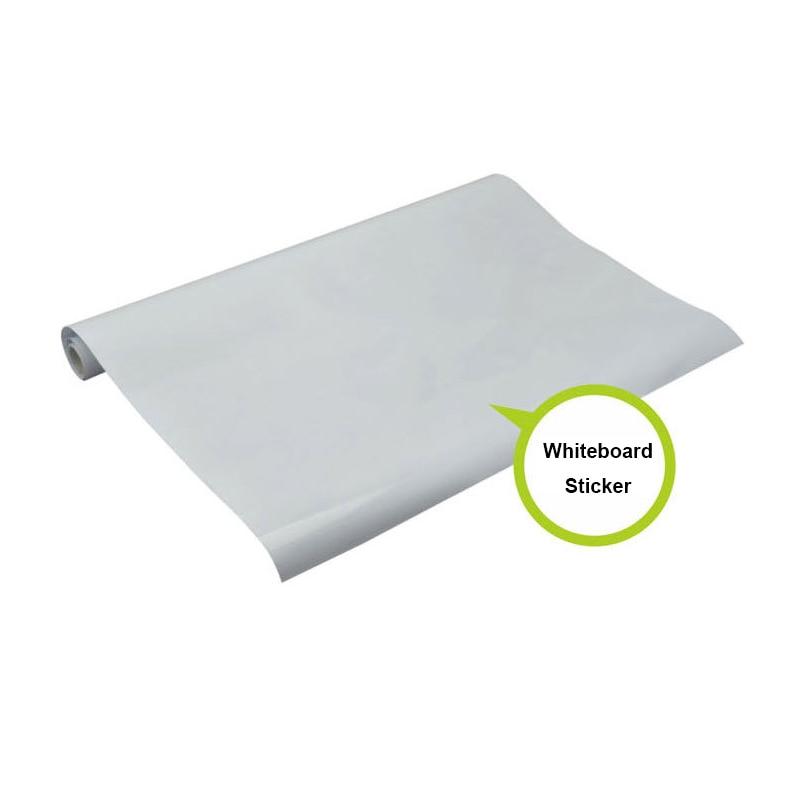 Съемный стикер для белой доски 100x45 см сухая стираемая белая доска наклейка на