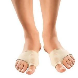 1pair Foot Care Big Toe Hallux Valgus Corrector Orthotics Bone Thumb Adjuster Correction Pedicure Socks Bunion Straightener