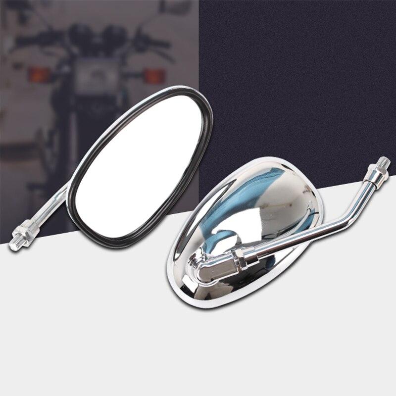 Universal motocross motocicleta moto espelhos retrovisores da bicicleta sujeira para yamaha xjr400 xjr1200 xjr1300 xjr 400 1200 1300