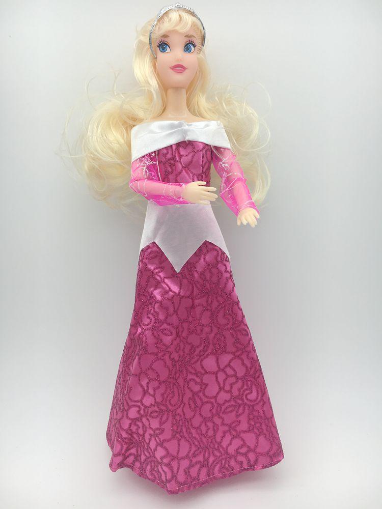 One Set Doll Dress Similar Fairy Tale Princess Snowwhite ariel merida repungel Cinderella Anna Wedding Dress For princess Doll