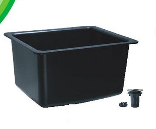 P01 fregadero de agua del fregadero de gran calidad de gran tamaño con rosca de conexión duradera