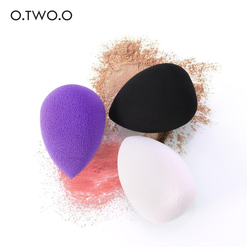O.TW O.O спонж для нанесения основы под макияж Косметическая губка-спонж для растушевки пудры, гладкая губка для макияжа недорого