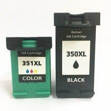 Einkshop 350XL 351XL Compatible Cartouche Dencre De Remplacement pour hp 350 351 xl Photosmart C4200 C4480 C4280 Officejet J5780 J5730