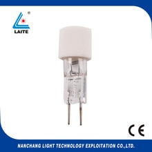 Guerra 6702/2 24V 55W G6.35 halogen lamp with white ceramic base 24V55W bulb free shipping-10pcs