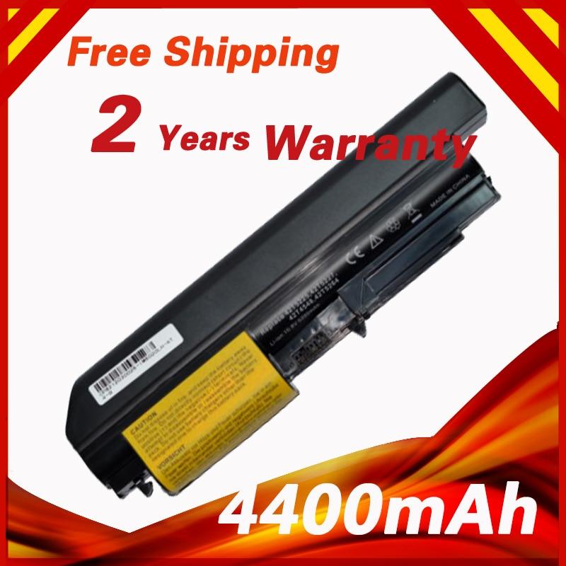 """Batería de 4400mAh para Lenovo Thinkpad R400 R61 T400 T61 R61 R61i T61P T61U (14,1 """"Pantalla panorámica) 42T5229 43R2499 42T4530 42T5262"""