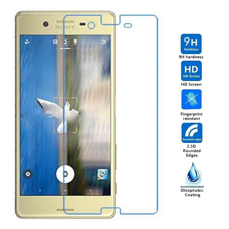 "9H 0,26mm 2.5D protector de pantalla Premium para Sony Xperia X/Dual F5121 F5122 5,0 ""de vidrio para Sony X compacto de vidrio templado"