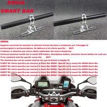 Motor Bike GPS Mount Holder For APRILIA Dorsoduro 1200 10-16 Shiver 750 / Shiver GT 750 07-09 Caponord 1200 2008-2016 Smart Bar