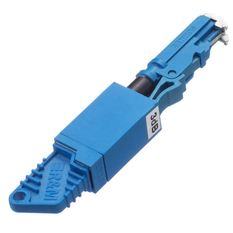 Atenuador de fibra óptica 5 uds SM E2000 UPC