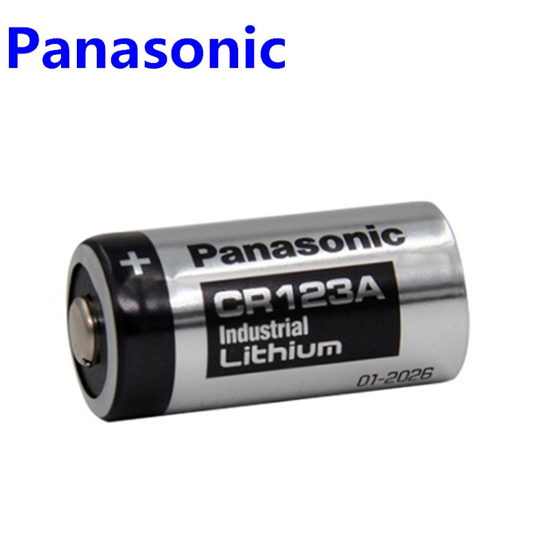 Original de Panasonic 123 de litio de 3V Arlo de batería de la Cámara CR123A CR17345 DL123A EL123A 123A