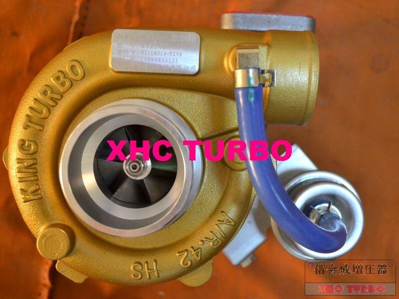 NEW GENUINE KINGTURBO GT25 1118010-F298 Turbo Turbocharger for FOTON Truck CA4DF2-14 4.8L 103KW