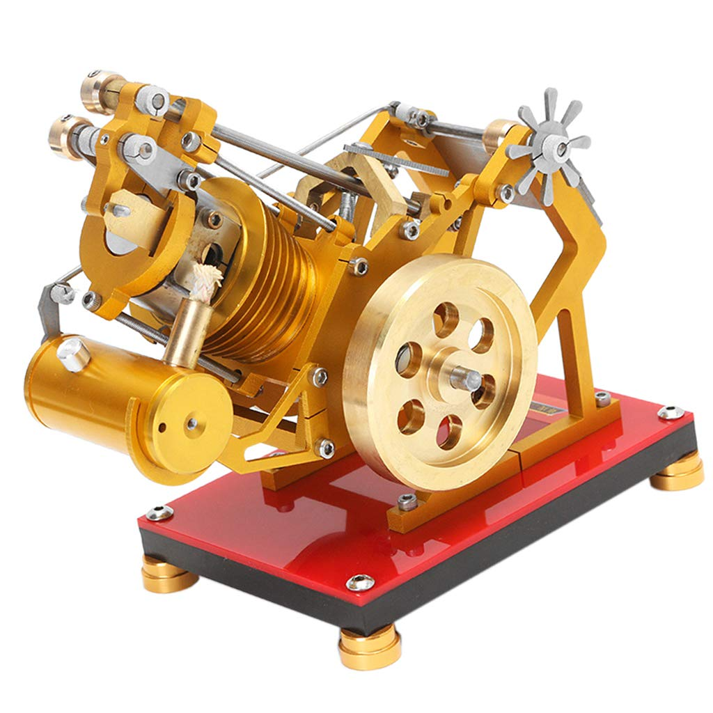 Modelo de Motor Stirling de Eater de llama, Motor de combustión externa, mecanismo de experimento de física