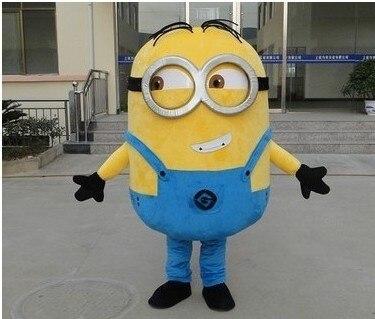 Disfraz de Gru, mi villano favorito de alta calidad 2 Mascot Gru, mi villano favorito minion disfraz de Mascota de lujo disfraz de dibujos animados envío gratis