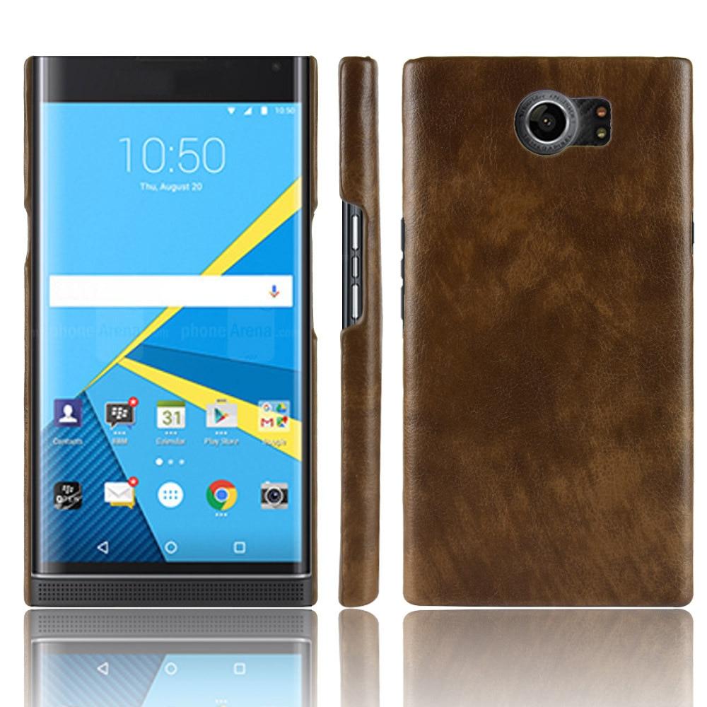 Priv Luxury Leather Case for Blackberry Priv Case Hard Matte Back Cover for BlackBerry Priv Case Coque Bumper Fundas Caphina