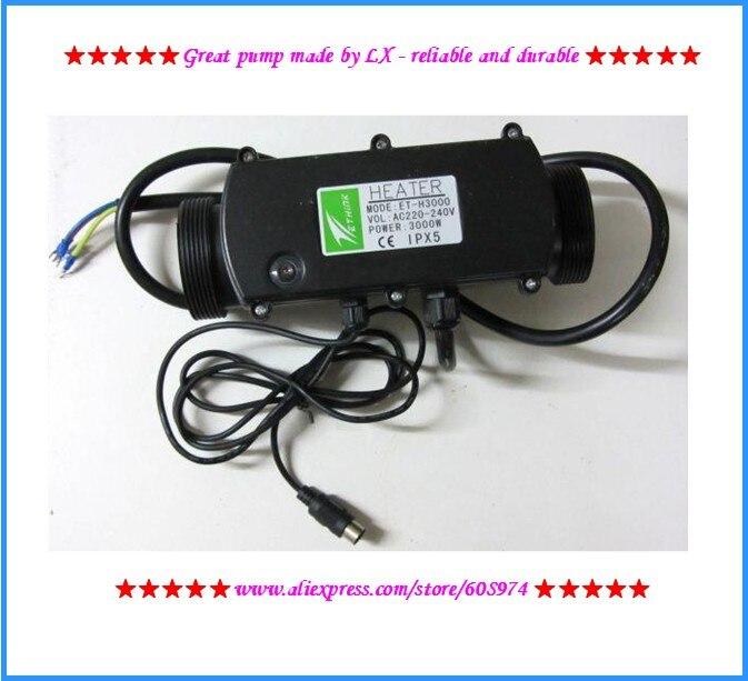 سبا الإستحمام سخان Ethink ET-H3000 IPX5 تحسين على أساس IPX7 EThink ET-H3000 سخان مع U شكل المكونات