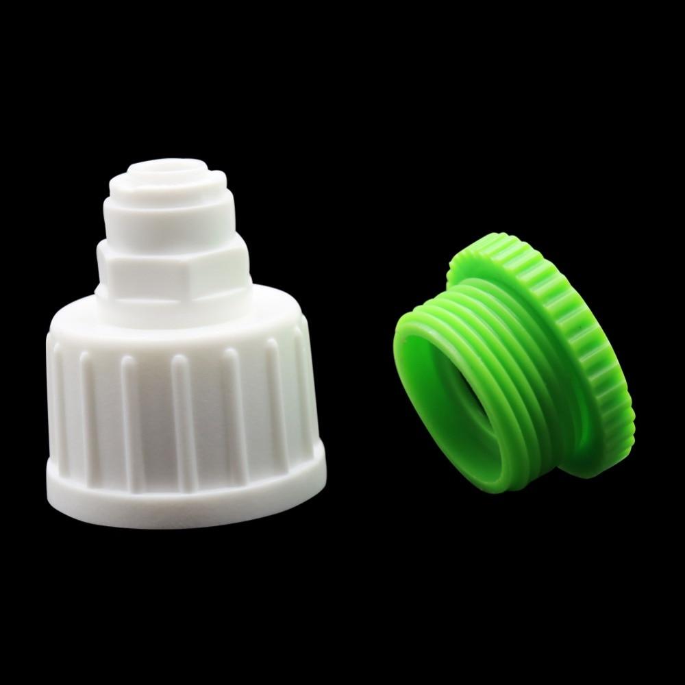 Hilo femenino de 1/2 pulgadas y 3/4 pulgadas a conector rápido de neumático de bloqueo deslizante de 6mm conectores de manguera para jardín 1 Juego