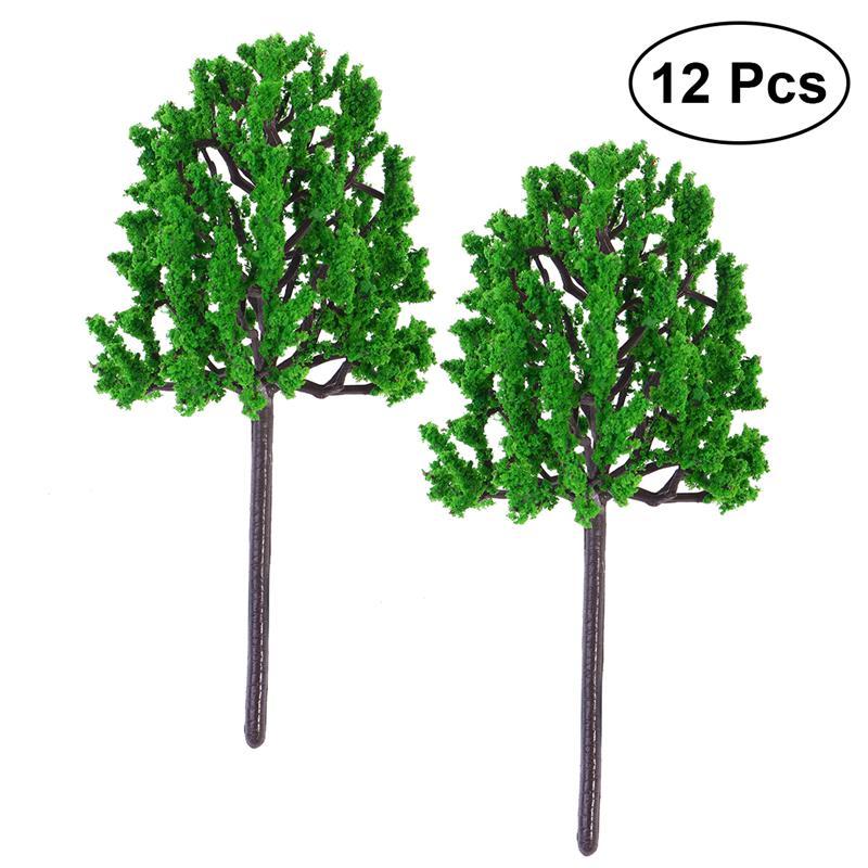 BESTOYARD 12 шт 14,5 см искусственная сосна Искусственные Растения Декоративные реалистичные Зеленые растения для домашнего офиса Microlandschaft