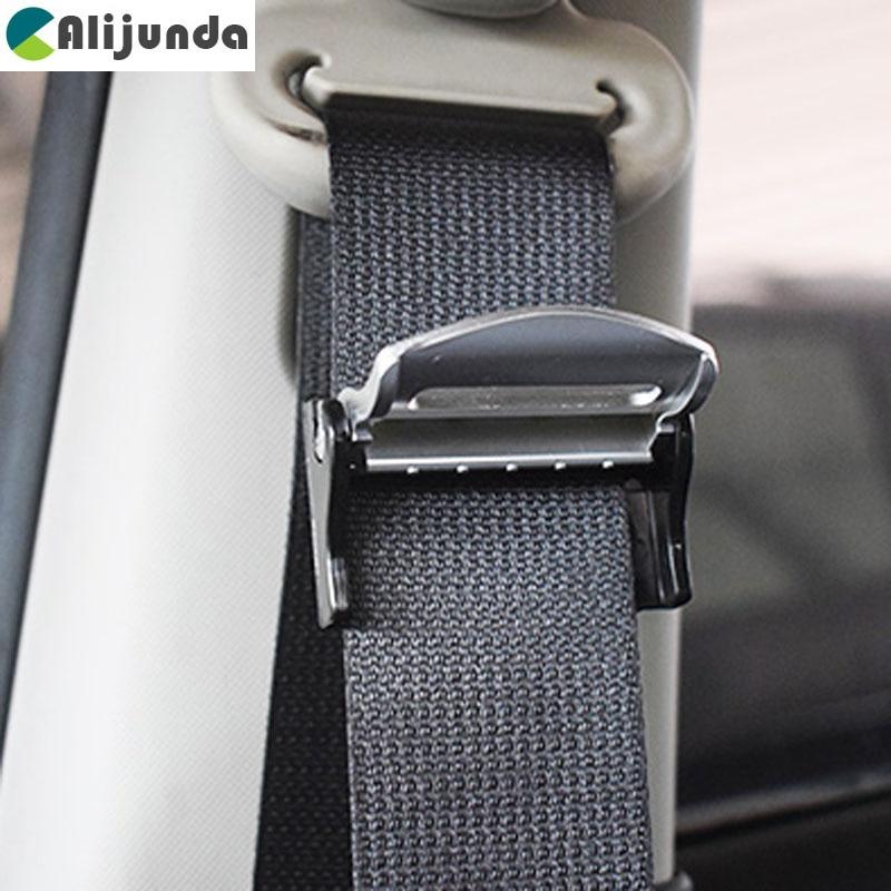 Ceintures de siège en plastique   2 pièces, Clips de sécurité réglables, arrêt boucle style de voiture pour Kia Rio K2 K3 K5 K4 Cerato,Soul,Forte,Sportag