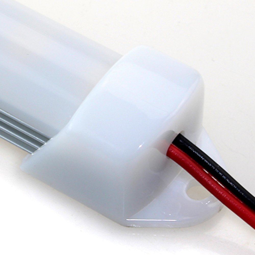 200pcs/lot 1m 168leds Big Chip Cool /Warm White Double Row 5630 Hard LED Bar Light Rigid Strip Max 40w DC12V enlarge