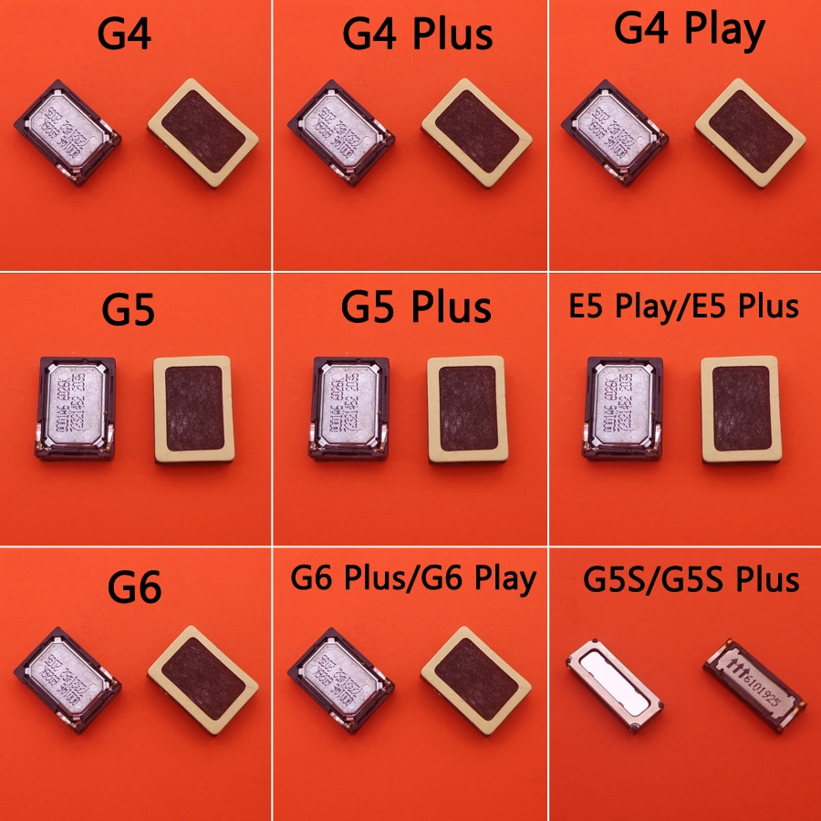 2x ресивер для наушников Динамик для Motorola moto G4 G5 G6 E5 plus play XT1924 XT1921 G5s XT1794 G5S Plus XT1805 G5SP